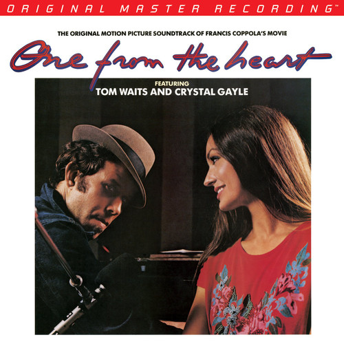 Tom Waits And Crystal Gayle Tom Waits And Crystal Gayle - One From The Heart  (1x Numbered 180G Vinyl 1LP) Rock LP. MoFi - Mobile Fidelity Sound Lab MFSL1-448. EAN 821797144810. Release date 01.01.1982. More info on www.sepeaaudio.com