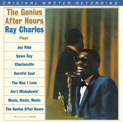 Ray Charles Ray Charles - The Genius After Hours  (1x Numbered Hybrid Mono SACD) Pop Jazz SACD. MoFi - Mobile Fidelity Sound Lab UDSACD2073. EAN 821797207362. Release date 01.01.1961. More info on www.sepeaaudio.com