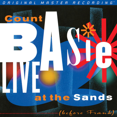 Count Basie Count Basie - Live At The Sands: Before Frank  (1x Numbered Hybrid SACD) Jazz SACD. MoFi - Mobile Fidelity Sound Lab UDSACD2113. EAN 821797211369. Release date 01.01.1966. More info on www.sepeaaudio.com