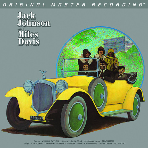 Miles Davis Miles Davis - A Tribute To Jack Johnson  (1x Numbered Hybrid SACD) Jazz SACD. MoFi - Mobile Fidelity Sound Lab UDSACD2150. EAN 821797215060. Release date 01.01.1971. More info on www.sepeaaudio.com