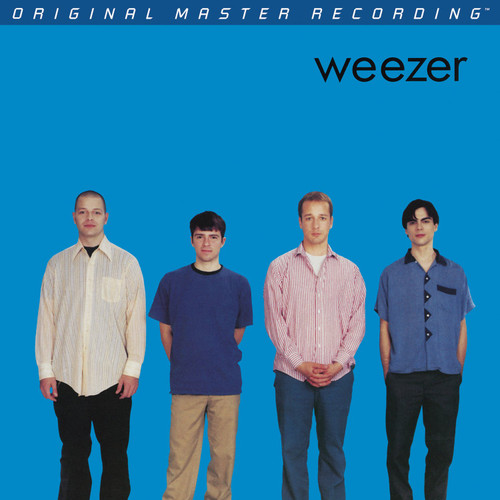Weezer Weezer - Weezer (Blue Album) (1x Numbered Hybrid SACD) Pop Rock SACD. MoFi - Mobile Fidelity Sound Lab UDSACD2160. EAN 821797216067. Release date 01.01.1994. More info on www.sepeaaudio.com