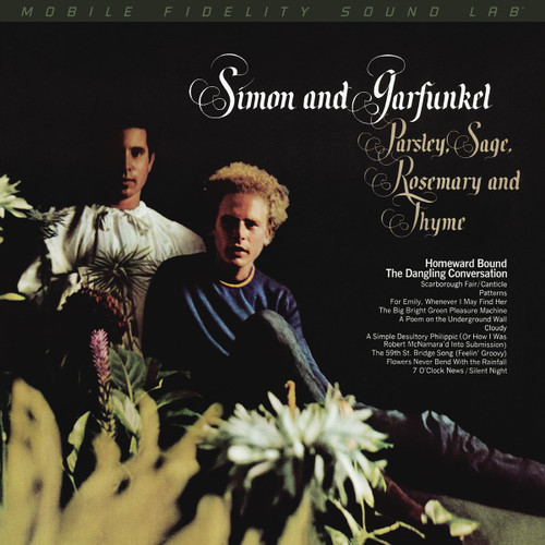 Simon and Garfunkel Simon and Garfunkel - Parsley, Sage, Rosemary and Thyme (1x Numbered Hybrid SACD) Pop SACD. MoFi - Mobile Fidelity Sound Lab UDSACD2199. EAN 821797219969. Release date 01.01.1966. More info on www.sepeaaudio.com