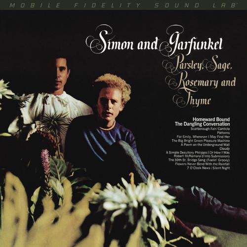 Simon and Garfunkel Simon and Garfunkel - Parsley, Sage, Rosemary and Thyme (1x Numbered Hybrid SACD) Pop SACD. MoFi - Mobile Fidelity Sound Lab UDSACD2199. EAN 821797219969. Release date 01.01.1966. More info on www.sepeaaudio.com