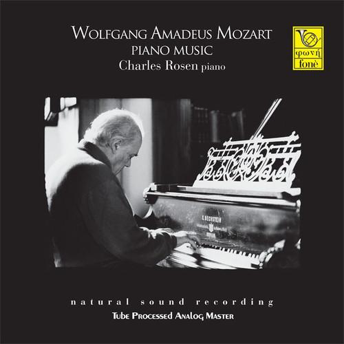 , W.A.MOZART PIANO MUSIC - CHARLES ROSEN PIANO (LP) (1x 180g Vinyl LP) Classical LP. Fonè Records FoneLP126. EAN . Release date 00.01.1900. More info on www.sepeaaudio.com