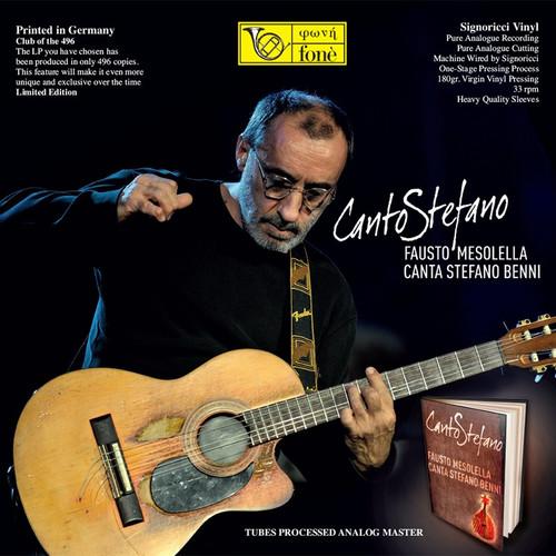 Canto Stefano - Fausto Mesolella Canta Stefano Benni, (Lp) (1x 180g Vinyl LP) (FoneLP132)