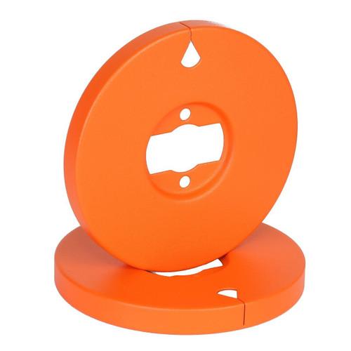 "SEPEA Color AEG Hub 1/4"" matt orange fine structure finish. SEPEA Audio - Professional reel-to-reel tape recorders and accessories. Visit sepeaaudio.com"