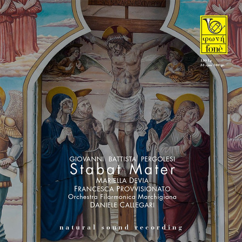 , GIOVANNI BATTISTA PERGOLESI - STABAT MATER (1x 180g Vinyl LP) Classical LP. Fonè Records FoneLP130. EAN . Release date 00.01.1900. More info on www.sepeaaudio.com
