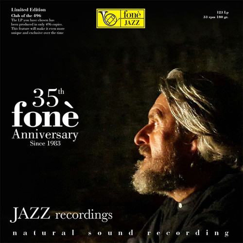 , 35TH FONÈ ANNIVERSARY JAZZ RECORDINGS (1x 180g Vinyl LP) Jazz LP. Fonè Records FoneLP123. EAN . Release date 00.01.1900. More info on www.sepeaaudio.com