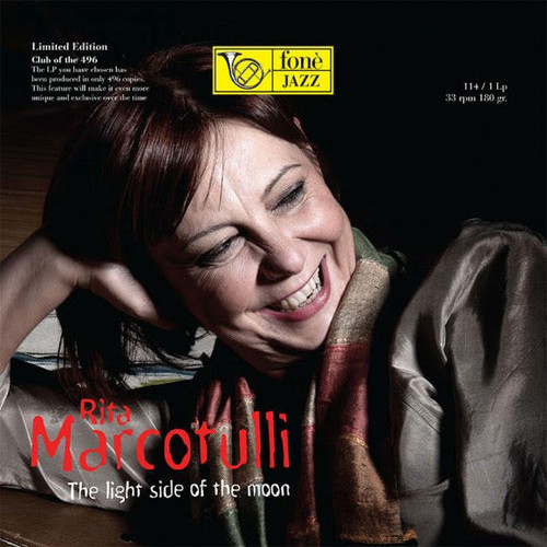 RITA MARCOTULLI - THE LIGHT SIDE OF THE MOON (1x 180g Vinyl LP) Jazz LP. Fonè Records FoneLP114. EAN . Release date 00.01.1900. More info on www.sepeaaudio.com