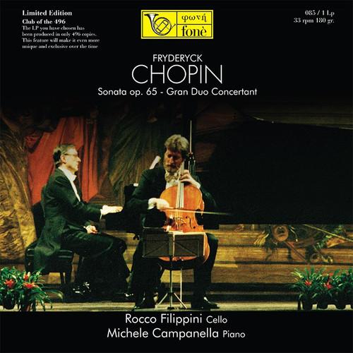 , ROCCO FILIPPINI & MICHELE CAMPANELLA, CHOPIN (1x 180g Vinyl LP) Classical LP. Fonè Records FoneLP085. EAN . Release date 00.01.1900. More info on www.sepeaaudio.com