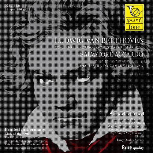 , SALVATORE ACCARDO, LUDWIG VAN BEETHOVEN (1x 180g Vinyl LP) Classical LP. Fonè Records FoneLP073. EAN . Release date 00.01.1900. More info on www.sepeaaudio.com