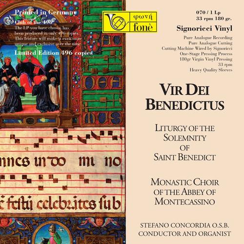 , VIR DEI BENEDICTUS (1x 180g Vinyl LP) Classical LP. Fonè Records FoneLP070. EAN . Release date 00.01.1900. More info on www.sepeaaudio.com