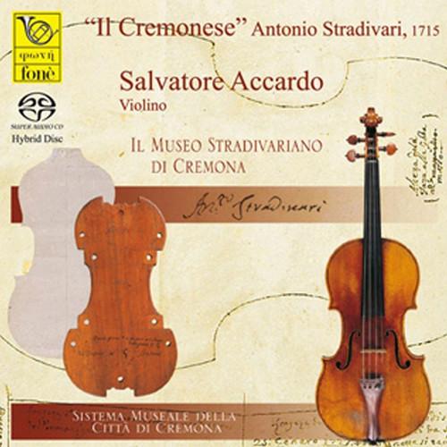 , SALVATORE ACCARDO & LAURA MANZINI, IL CREMONESE - STRADIVARI, 1715 (SACD) (1x Hybrid SACD) Jazz SACD. Fonè Records FoneSACD2045. EAN . Release date 00.01.1900. More info on www.sepeaaudio.com