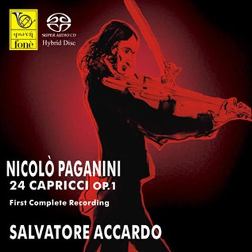 , PAGANINI 24 CAPRICCI FOR VIOLIN SOLO OP. 1 (2x Hybrid SACD) Rock SACD. Fonè Records FoneSACD032. EAN . Release date 00.01.1900. More info on www.sepeaaudio.com