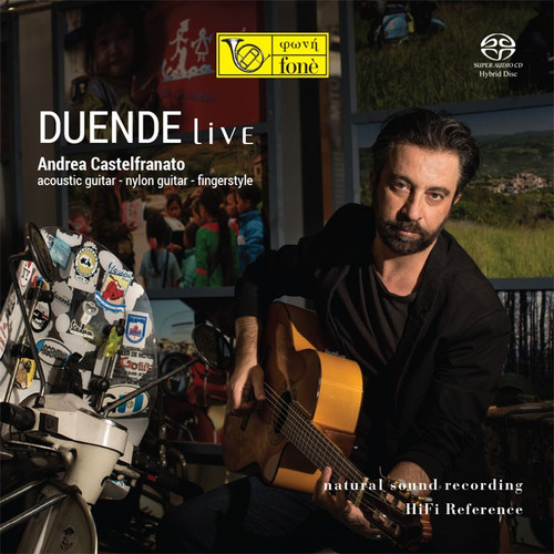 , DUENDE LIVE (1x Hybrid SACD) Jazz SACD. Fonè Records FoneSACD213. EAN . Release date 00.01.1900. More info on www.sepeaaudio.com