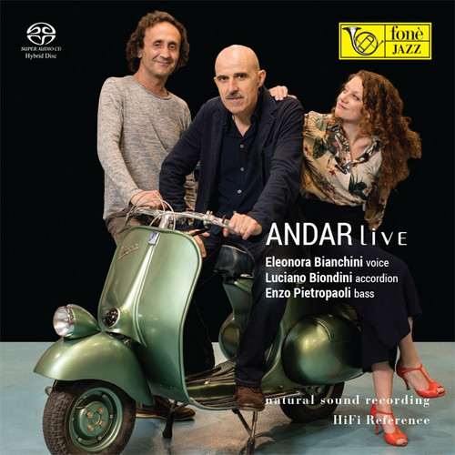 , ANDAR LIVE (1x Hybrid SACD) Jazz SACD. Fonè Records FoneSACD210. EAN . Release date 00.01.1900. More info on www.sepeaaudio.com