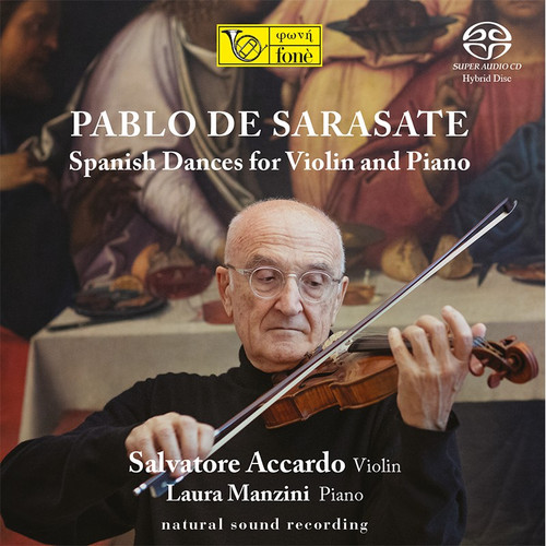 , PABLO DE SARASATE - SPANISH DANCES FOR VIOLIN AND PIANO (1x Hybrid SACD) Classical SACD. Fonè Records FoneSACD218. EAN . Release date 00.01.1900. More info on www.sepeaaudio.com