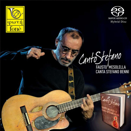 Canto Stefano - Fausto Mesolella Canta Stefano Benni (Sacd) (1x Hybrid SACD) (FoneSACD149)