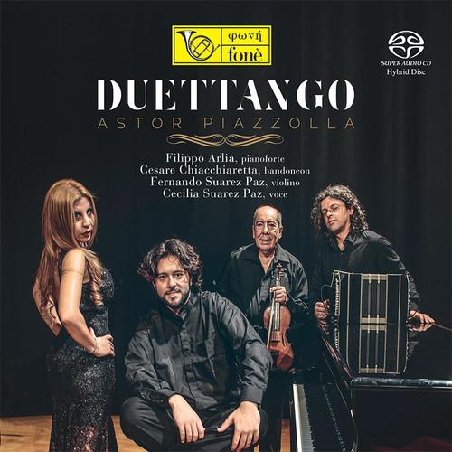 , DUETTANGO, ASTOR PIAZZOLLA (SACD) (1x Hybrid SACD) Classical SACD. Fonè Records FoneSACD167. EAN . Release date 00.01.1900. More info on www.sepeaaudio.com