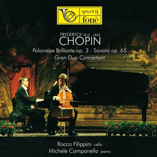 Rocco Filippini & Michele Campanella, Chopin (Sacd) (1x Hybrid SACD) (FoneSACD069)