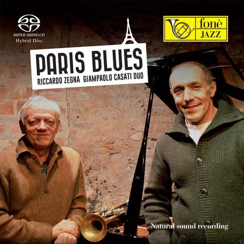 , PARIS BLUES - RICCARDO ZEGNA GIAMPAOLO CASATI DUO (SACD) (1x Hybrid SACD) Jazz SACD. Fonè Records FoneSACD144. EAN . Release date 00.01.1900. More info on www.sepeaaudio.com