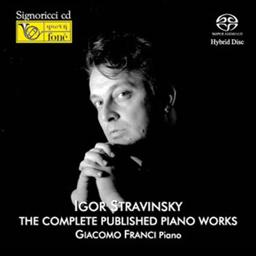 , I. STRAVINSKY / G. FRANCI THE COMPLETE PUBLISHED PIANO WORKS (2x Hybrid SACD) Classical SACD. Fonè Records FoneSACD070. EAN . Release date 00.01.1900. More info on www.sepeaaudio.com