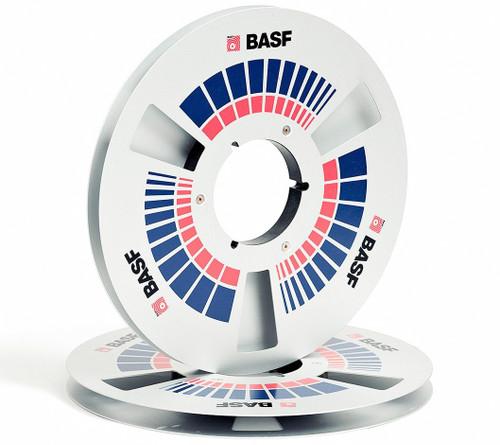 "BASF 0,5"" Metal NAB Reel 10,5""/265mm silver - used"