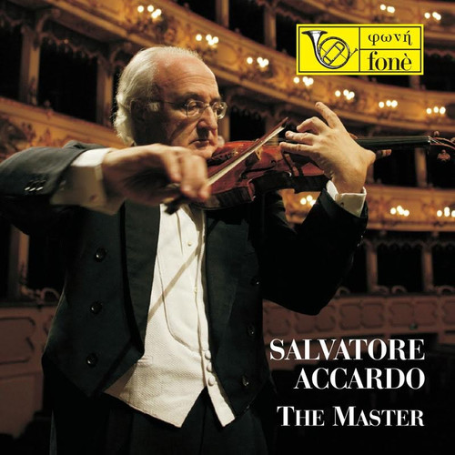 , SALVATORE ACCARDO - THE MASTER (1x CD) Classical CD. Fonè Records FoneCD037. EAN . Release date 00.01.1900. More info on www.sepeaaudio.com
