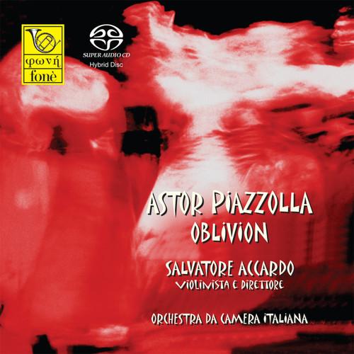 , SALVATORE ACCARDO - ASTOR PIAZZOLLA, OBLIVION (SACD) (1x Hybrid SACD) Classical SACD. Fonè Records FoneSACD019. EAN . Release date 00.01.1900. More info on www.sepeaaudio.com
