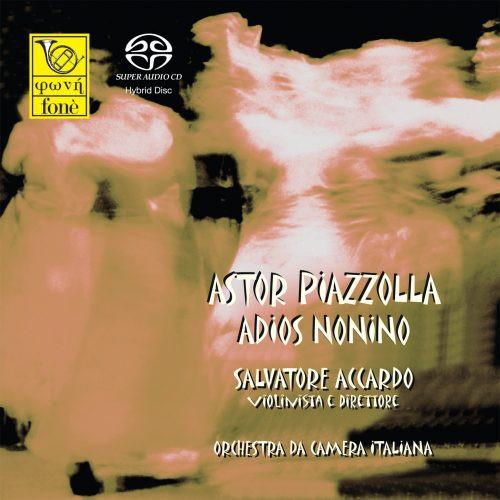 , ADIOS NONINO - A.PIAZZOLLA (SACD) (1x Hybrid SACD) Classical SACD. Fonè Records FoneSACD020. EAN . Release date 00.01.1900. More info on www.sepeaaudio.com
