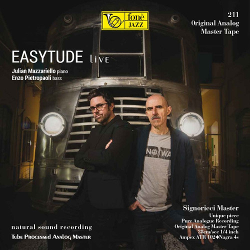 "Jazz MASTER TAPE - EASYTUDE LIVE. Fonè Records, original cat.# Fonè 211, format 2x 1/4"" RTM SM900 Tape set, Metal reel 10,5""/265mm, NAB Hub, 38 cm/s (15 ips), IEC eq. More info on www.sepeaaudio.com"