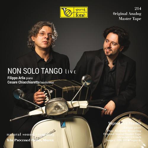 "Pop MASTER TAPE - NON SOLO TANGO LIVE. Fonè Records, original cat.# Fonè 214, format 2x 1/4"" RTM SM900 Tape set, Metal reel 10,5""/265mm, NAB Hub, 38 cm/s (15 ips), IEC eq. More info on www.sepeaaudio.com"