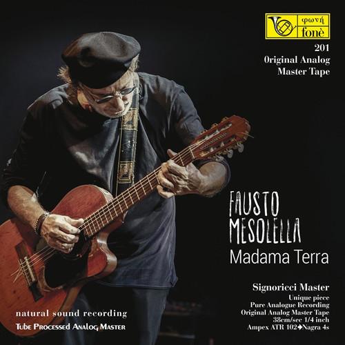 "Pop MASTER TAPE - MADAMA TERRA, FAUSTO MESOLELLA. Fonè Records, original cat.# Fonè 201, format 2x 1/4"" RTM SM900 Tape set, Metal reel 10,5""/265mm, NAB Hub, 38 cm/s (15 ips), IEC eq. More info on www.sepeaaudio.com"