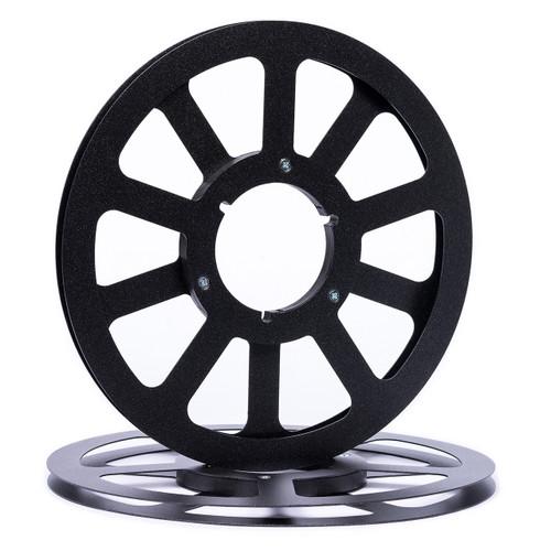 "SEPEA 1/4"" Metal NAB Reel M1 10,5""/265mm black mat metallic - used. Reel Tape accessories sepeaaudio.com"