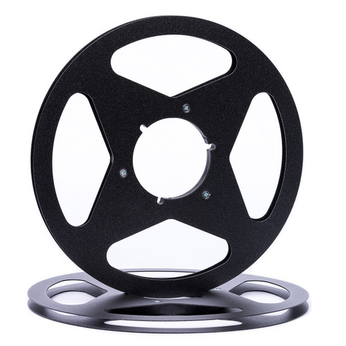 "SEPEA 1/4"" Metal NAB Reel M2 10,5""/265mm black mat metallic - used. Reel Tape accessories sepeaaudio.com"