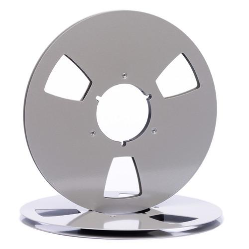 "SEPEA 1/4"" Metal NAB Reel M6 10,5""/265mm - used dark silver gloss. Visit sepeaaudio.com"