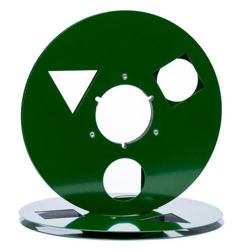 "SEPEA 1/4"" Metal NAB Reel M7 10,5""/265mm - used dark green gloss. Visit sepeaaudio.com"