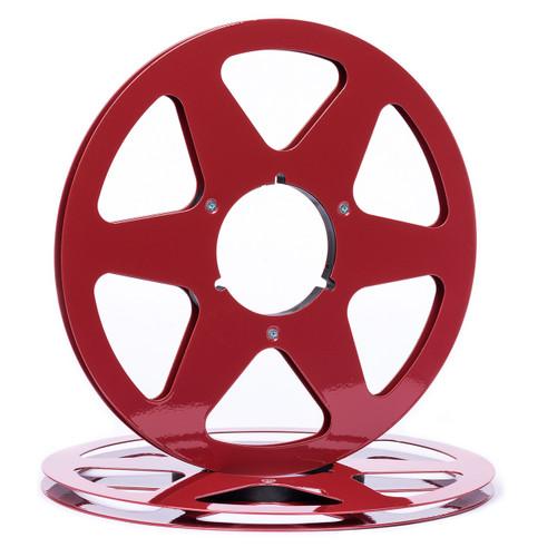 """SEPEA 1/4"""" Metal NAB Reel M9 10,5""""/265mm purple gloss - used. Reel Tape accessories sepeaaudio.com"""