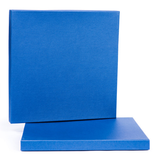 "SEPEA Blue 2-Piece Empty Paper Box for 0,25""; 10""/265mm tape"