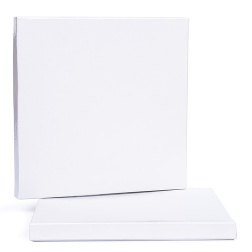 "SEPEA White 2-Piece Empty Paper Box for 0,25""; 10""/265mm tape"
