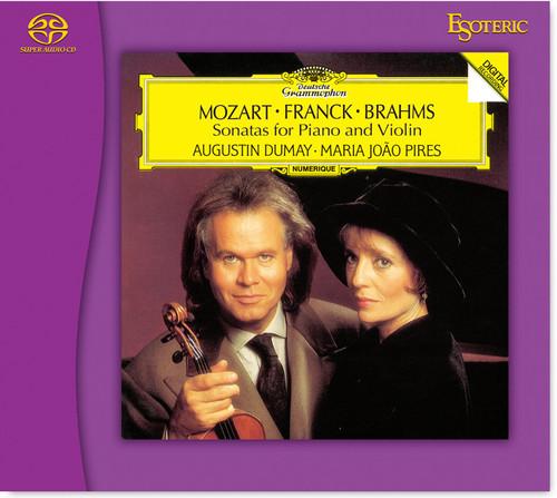 Sonatas for Piano & Violin, Mozart, Franck & Brahms - Dumay, João Pires, (Hybrid SACD) (ESSG-90219)