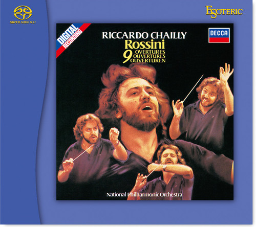 Rossini, 9 Overtures, National Philharmonic Orchestra, Conducted by Riccardo Chailly (Hybrid SACD) (ESSD-90218)