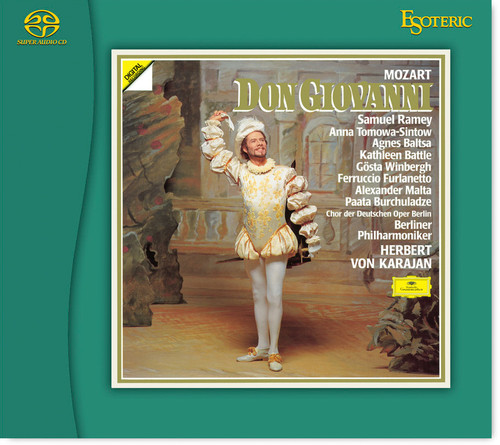 Don Giovanni, Mozart, Berliner Philharmoniker, Conducted by Karajan (Hybrid SACD) (ESSG-90209/11)