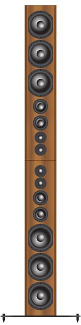 Bryston Model T Rex Double 3-way Active Floorstanding Loudspeakers