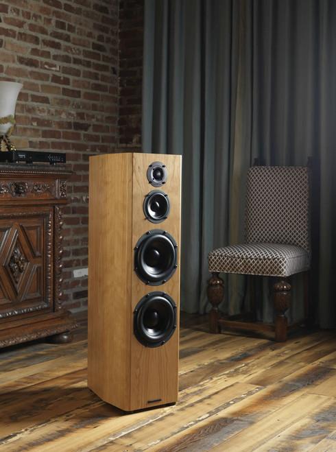 Bryston Middle T Active Floor-standing 3-way Loudspeakers