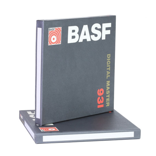 BASF 931 Digital Mastering Recording Tape. Visit sepeaaudio.com for more info.