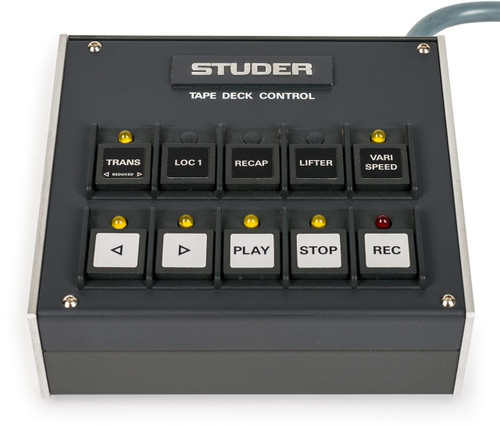 Studer A 810 Remote Tape Deck Control - Used. Sepea Audio - Professional reel-to-reel tape recorders and accessories. Visit www.sepeaaudio.com