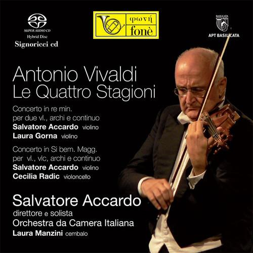 S.Accardo - Vivaldi, Le Quattro Stagioni (1x Hybrid SACD) (FoneSACD065)