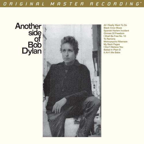 Bob Dylan - Another Side of Bob Dylan (1x Numbered Hybrid SACD) Pop SACD. MoFi - Mobile Fidelity Sound Lab UDSACD2095. EAN 821797209564. Release date 00.01.1900. More info on www.sepeaaudio.com