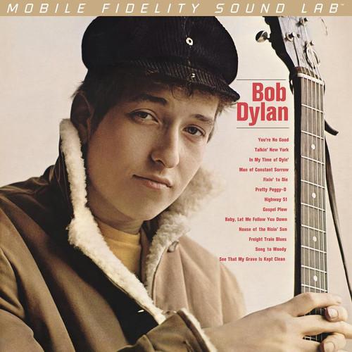 Bob Dylan - Bob Dylan (1x Numbered Hybrid SACD) Pop SACD. MoFi - Mobile Fidelity Sound Lab UDSACD2122.